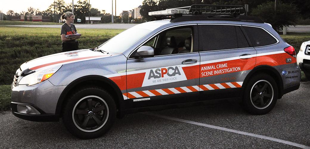 ASPCA CSI Response Vehicle