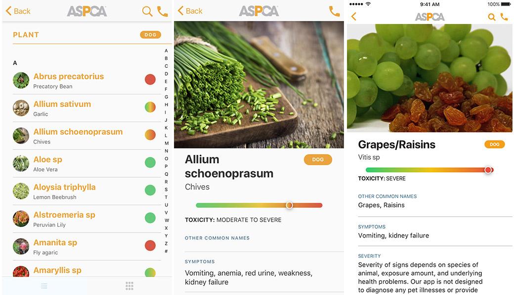 ASPCA App screenshots
