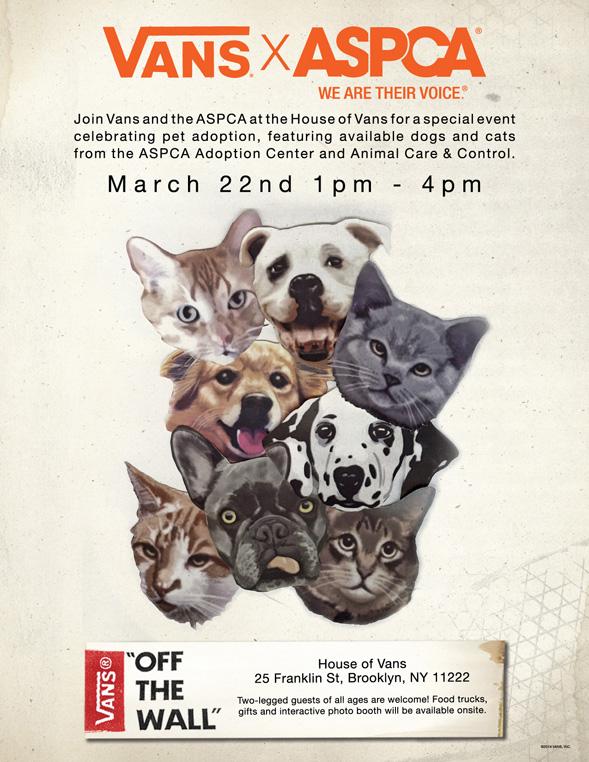 ASPCA Vans Flyer