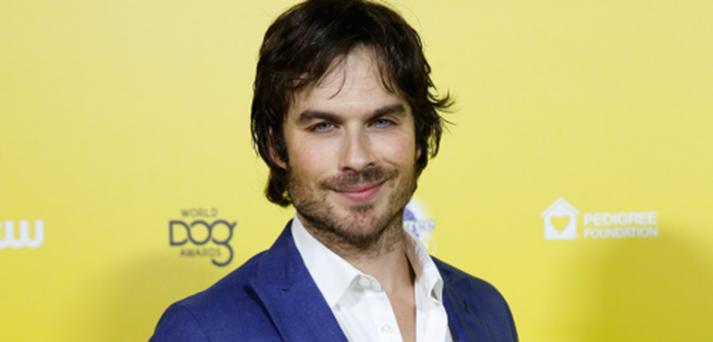 "ASPCA Presents ""Dog's Best Friend"" Award to Actor Ian Somerhalder at the World Dog Awards"