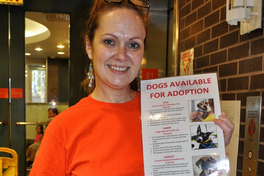 ASPCA Volunteer Cynthia Thrash