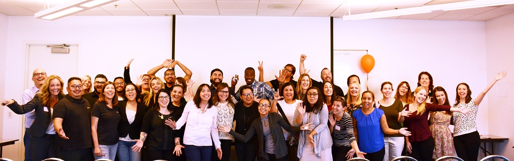 The ASPCA L.A. team celebrates their three major milestones.