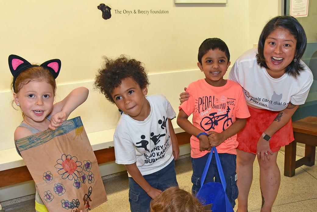 Hunter College Elementary School kindergarteners