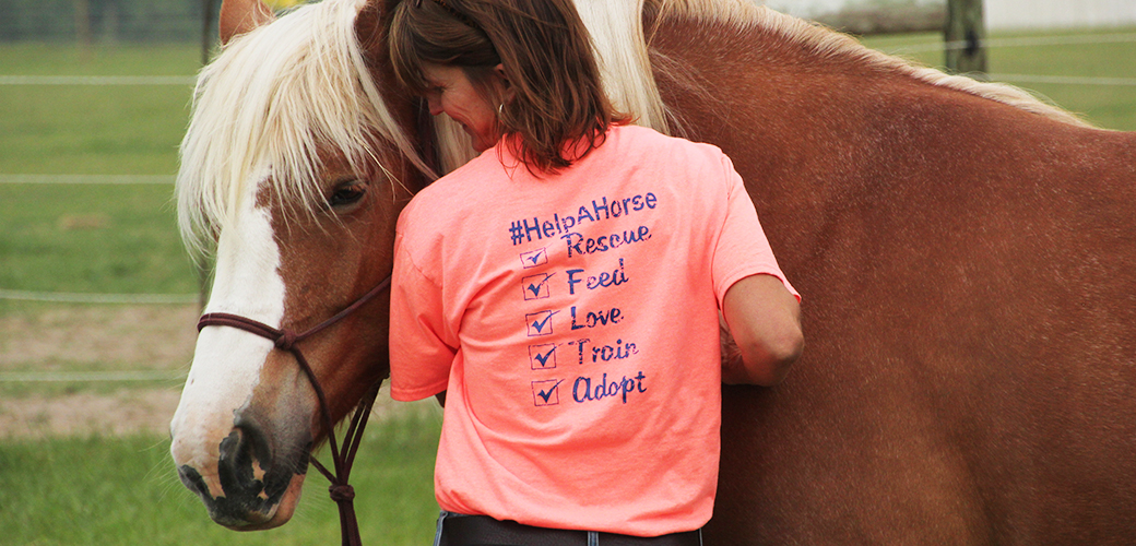 """Announcing the Winners of April's ASPCA """"Help a Horse Day"""" Contest"""