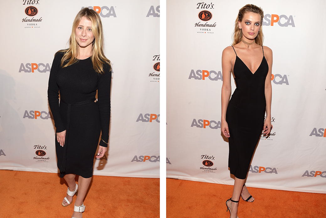 (Left) Television personality and After Dark Event Chair, Lo Bosworth. (Right) Model Bregje Heinen.