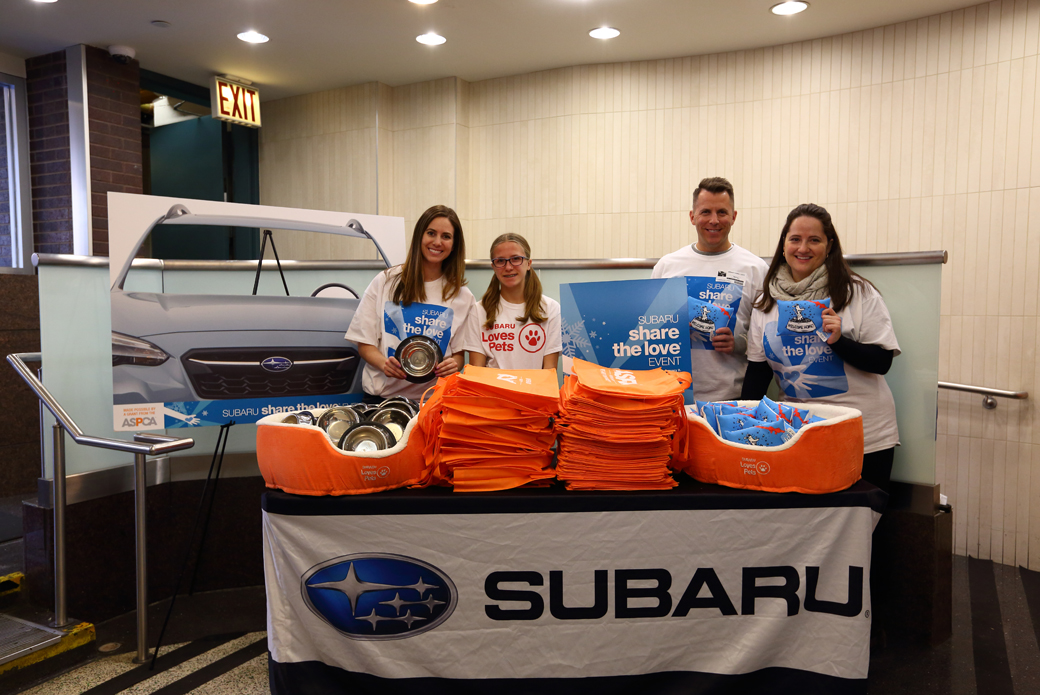 subaru share the love event