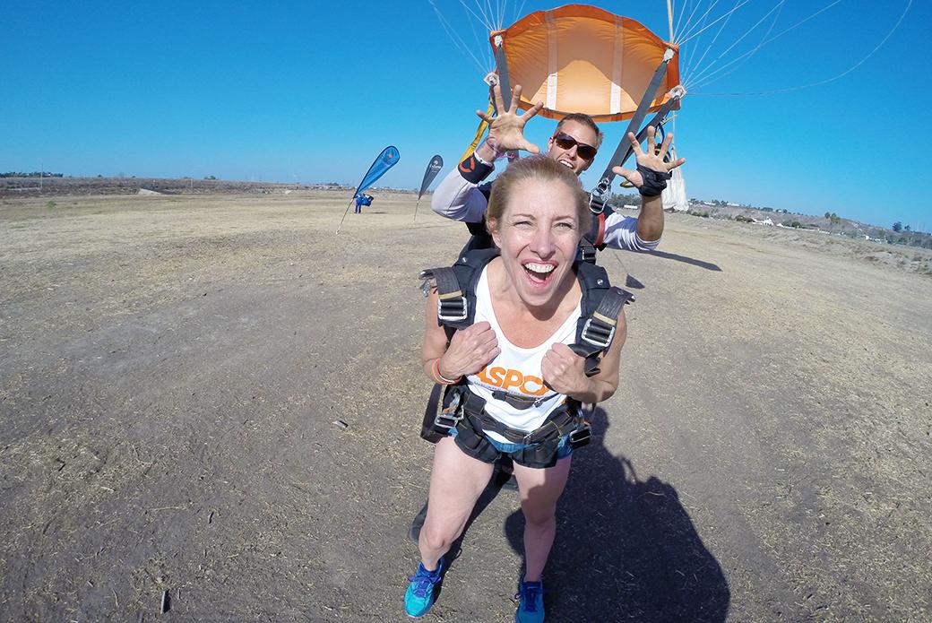 Jill after landing