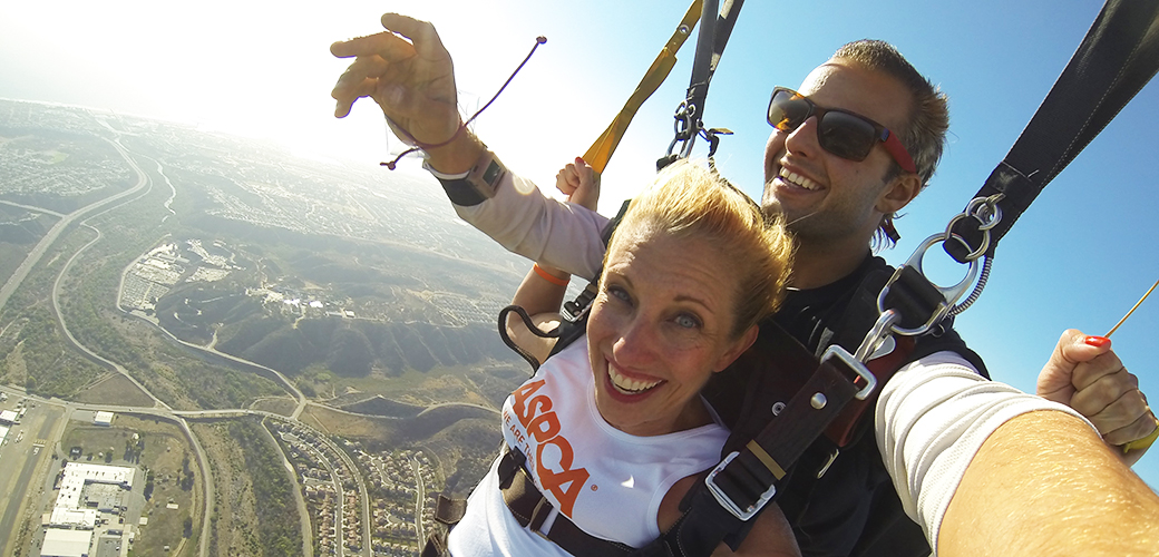 Falling for Fundraising: Team ASPCA's Skydiving Adventure