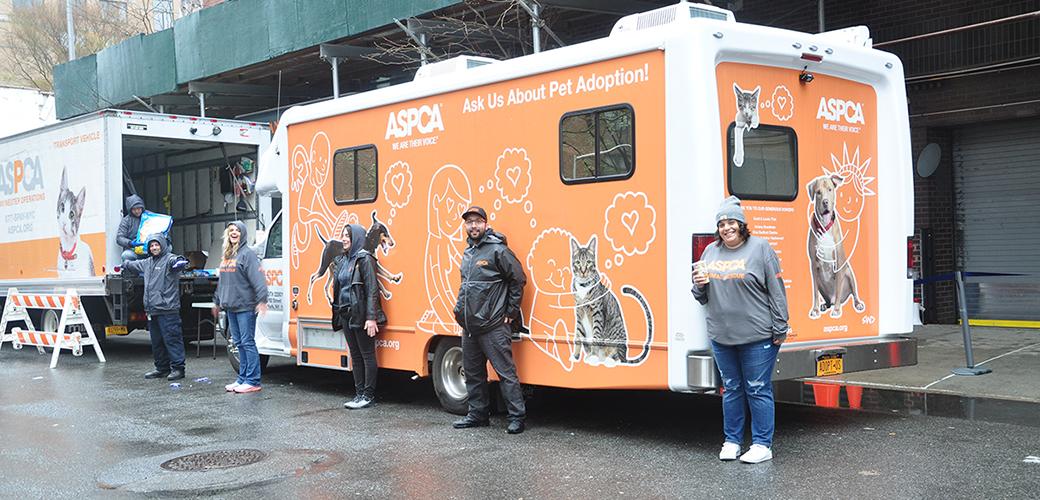 ASPCA pet food distribution