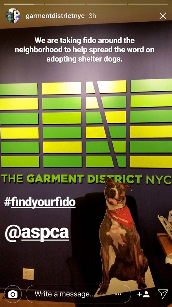 Garment District joins #findyourfido