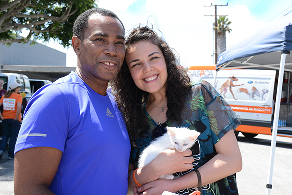 ASPCA and California Assemblyman Host Donation Drive and Adoption Event
