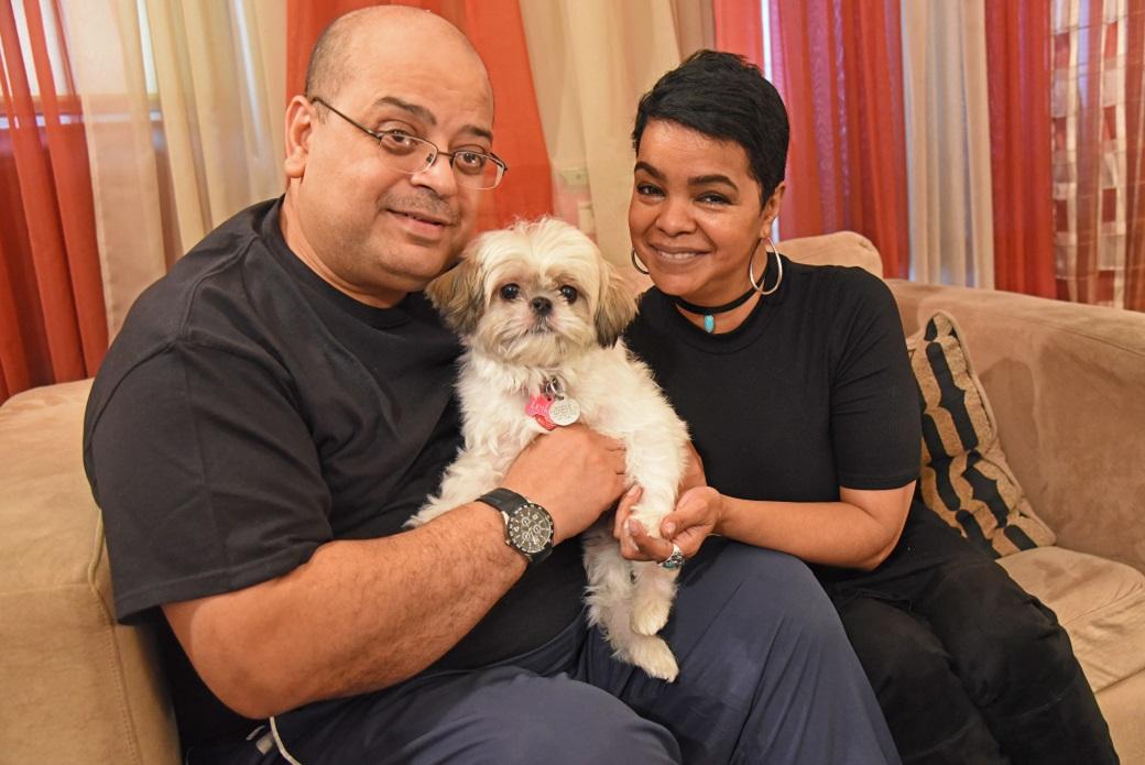 Leilani with Robert and Diana