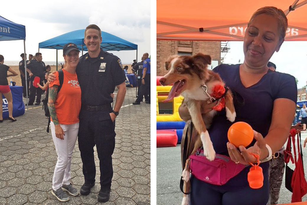 National Night out in Jackson Heights