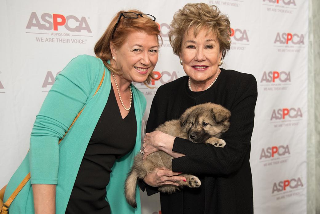 ASPCA's Nancy Perry with former U.S. Senator Elizabeth Dole