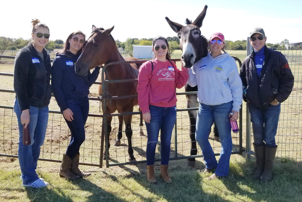 ASPCA rescue partner and friends at Humane Society North Texas