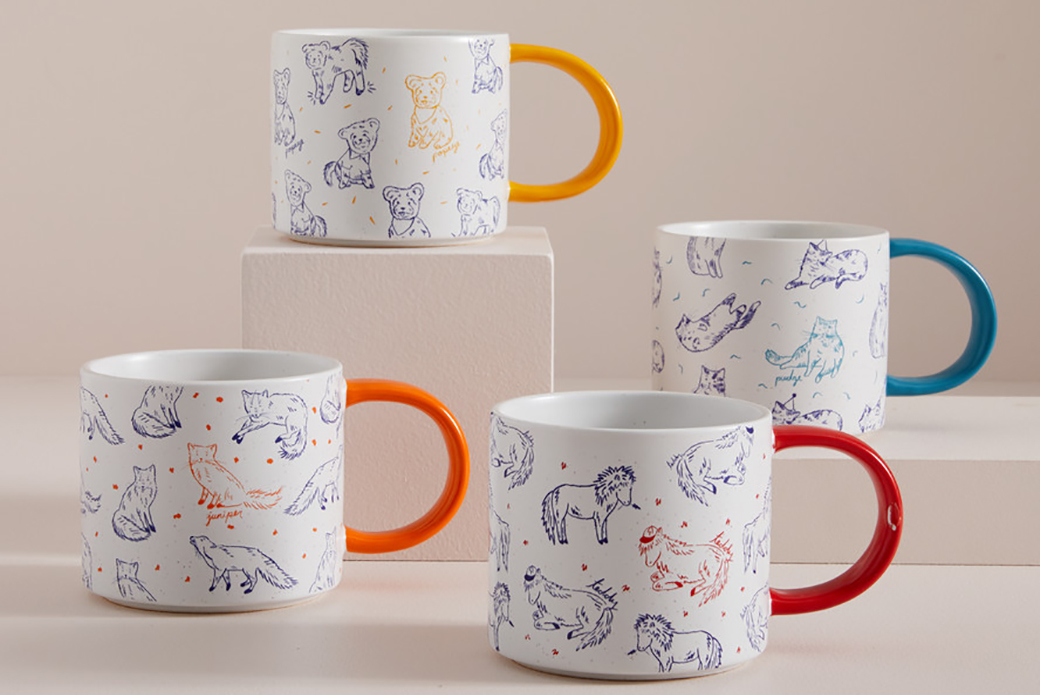 west elm mugs
