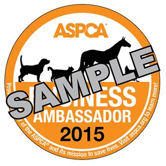 ASPCA Business Ambassadors Badge