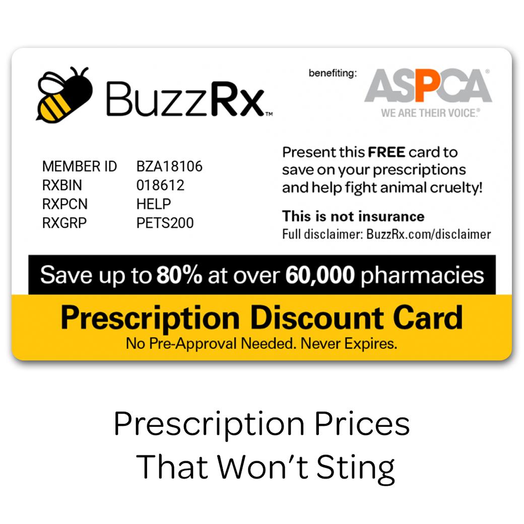 Buzz Rx card