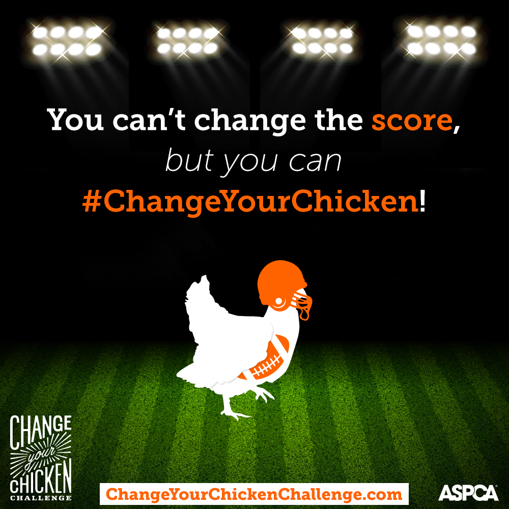 Kick Off a Commitment to Change Your Chicken