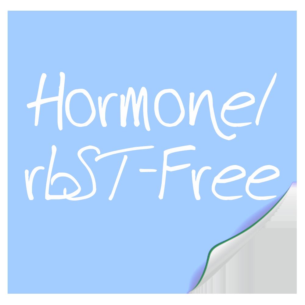 Hormone/ rBST-Free