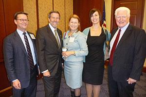 chard Patch (ASPCA), Rep. John Campbell, Nancy Perry (ASPCA), Carolyn Schnurr (ASPCA), Rep. Jim Moran