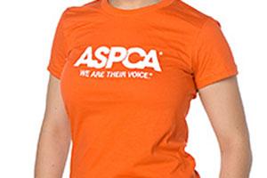 ASPCA orange t-shirt