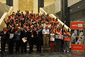 ASPCA lobby day participants