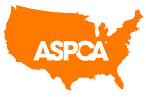 Orange ASPCA map of United States