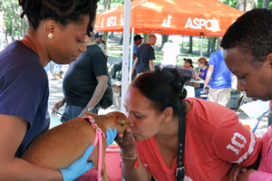 ASPCA Team Members Visit Community to Provide Free Vaccines, Spay/Neuter Services