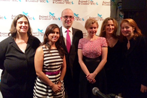 "Four ASPCA Staff Members Honored as ""New York's Kindest"""