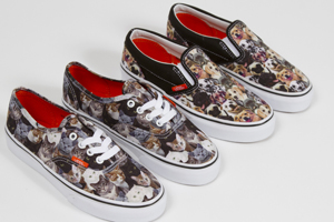 Vans Dog- and Cat-Themed Shoes