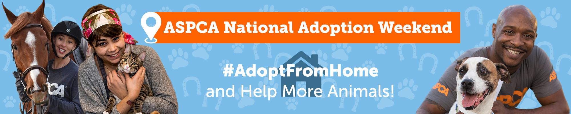 ASPCA National Adoption Weekend