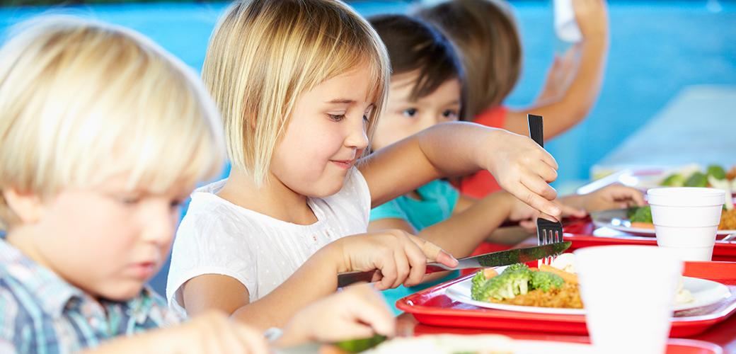 Good Food Purchasing Program: Children eating