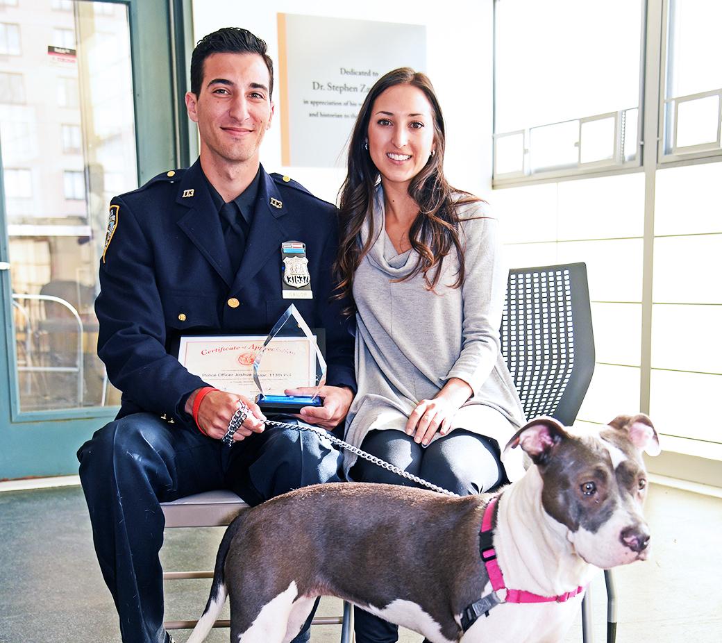 Maryann and Officer Sailor