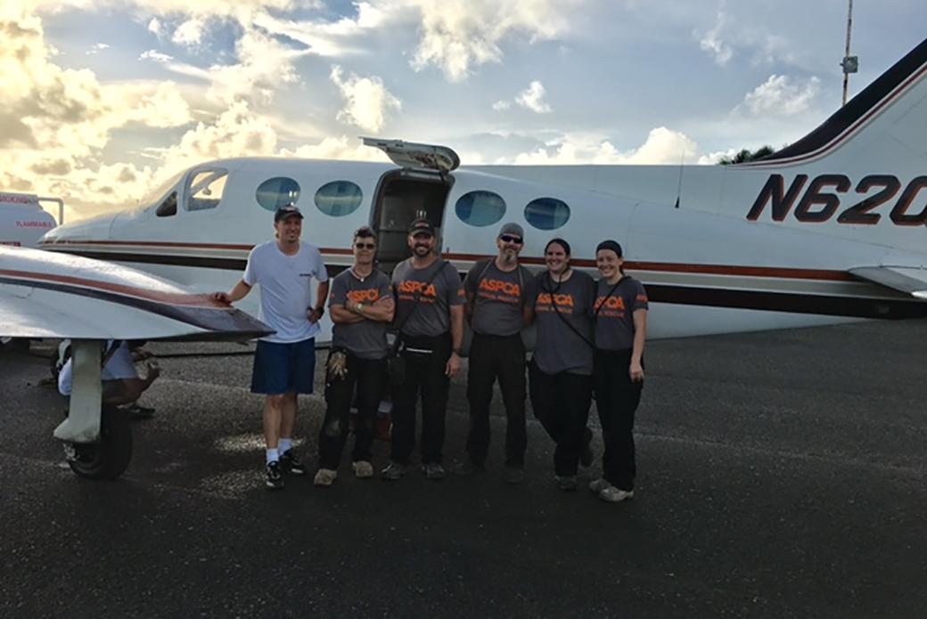 Cloud Nine Rescue Flights team