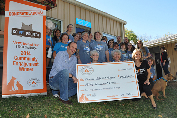 Kansas City Pet Project Wins ASPCA Community Engagement Award