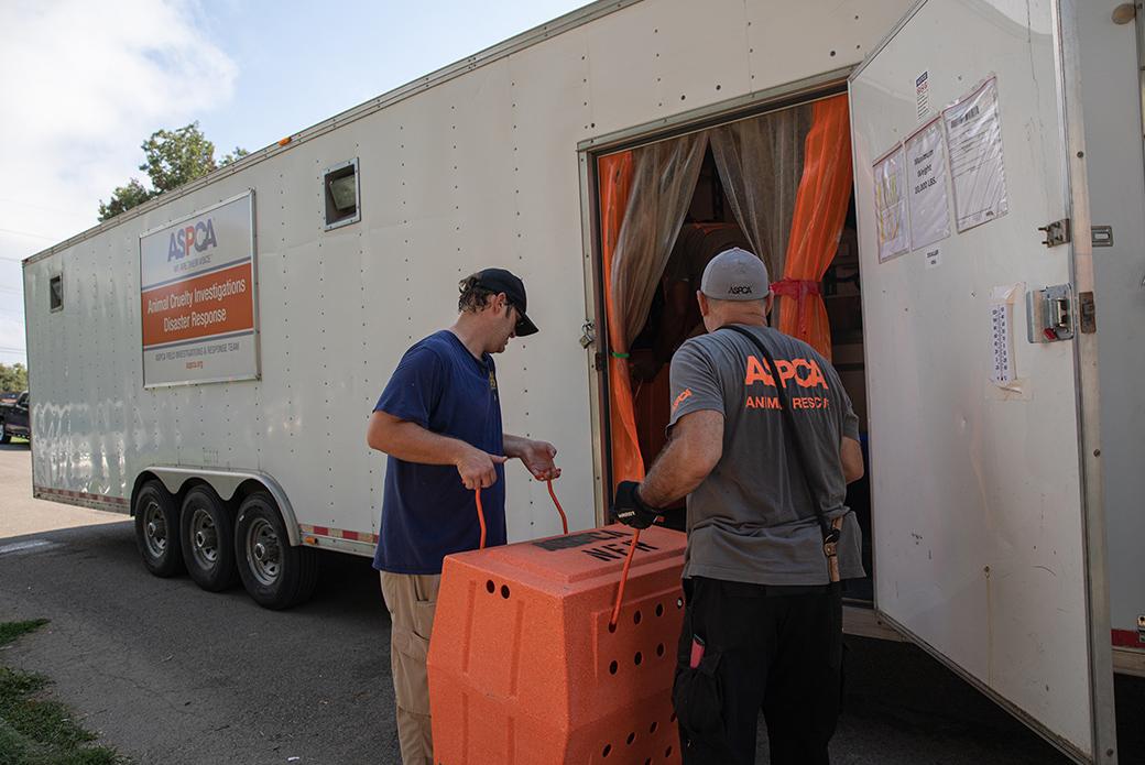 ASPCA disaster response transport