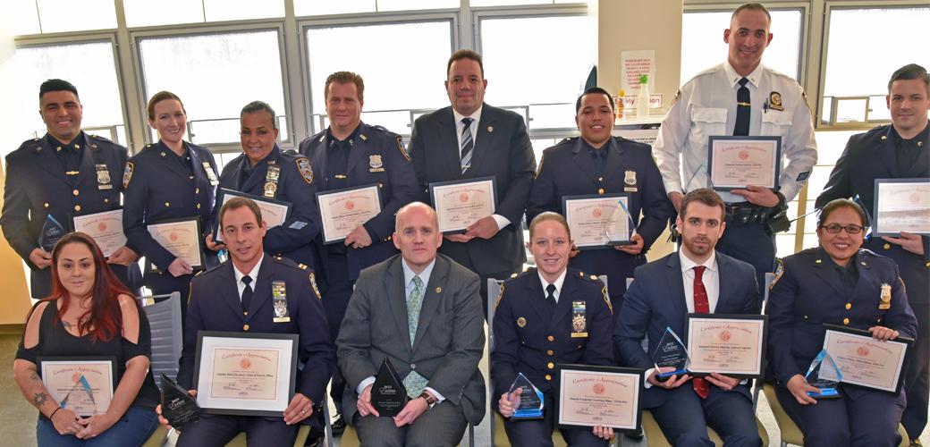 NYPD awardees