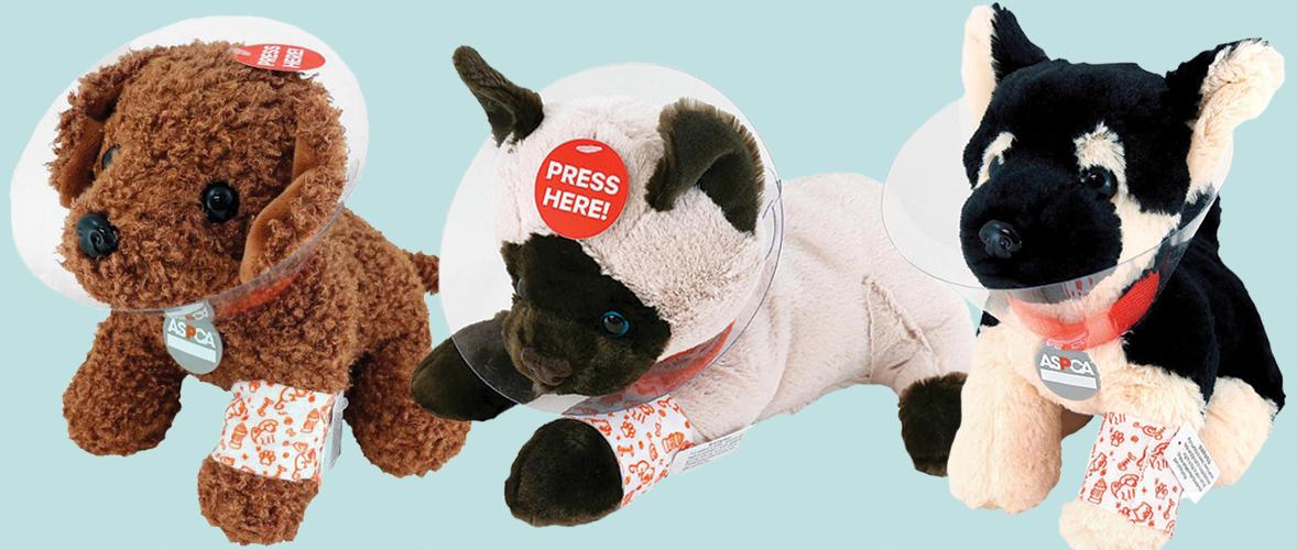ASPCA Plush Rescue Pets