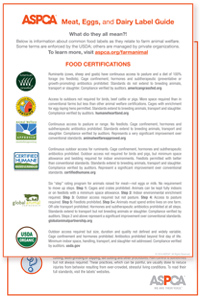 food label pocket guide