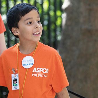 Mateo's Wish to Make a Difference: The ASPCA and Make-A-Wish Bring One Boy's Dream to Life