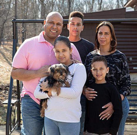 Twix and the De Los Santos family