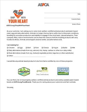 supermarket request letter