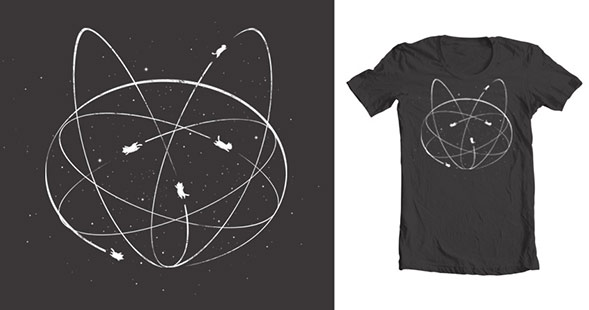 New Atomic Kitty Shirt Helps Animals Across the Country